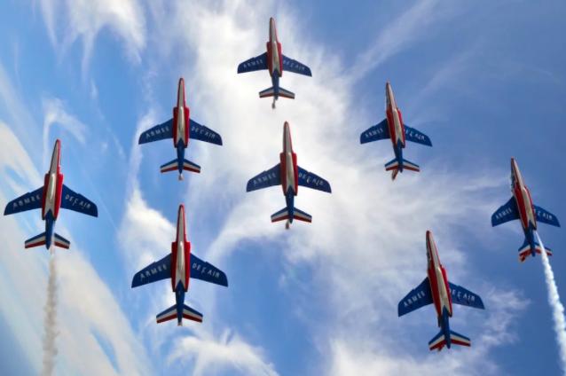 «Je suis pilote de chasse affecté à la Patrouille de France», discussion renversante avec un as des airs