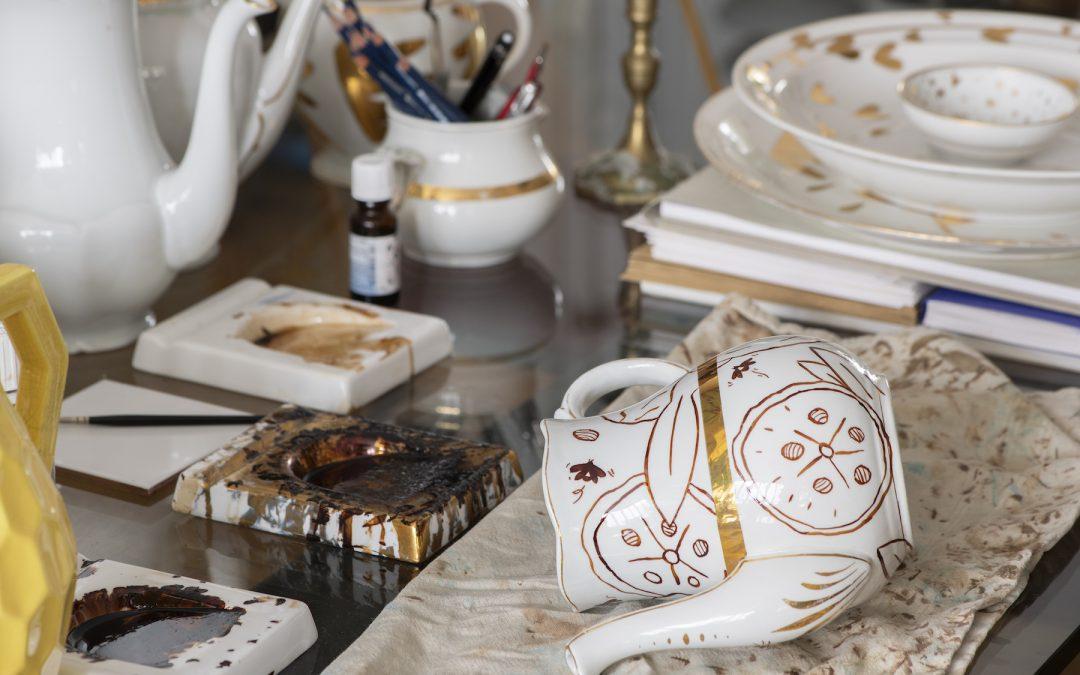 Le Bazar d'Alger : l'atelier de décor sur porcelaine qui remet au gout du jour l'art de la table