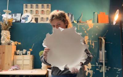 """Ségolène d'Atelier Crenamik : """"La porcelaine est caractérielle, elle n'aime pas les erreurs, elle les retient toujours"""""""