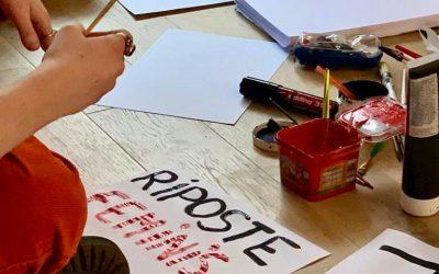 «Riposte Féministe», le long métrage qui va mettre en lumière le mouvement des colleur.euses